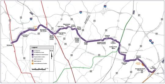 Washington DC Purple Line