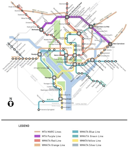 Washington DC Purple Line