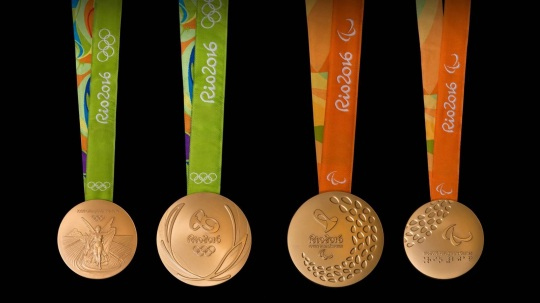 Olympic 2016 Medals