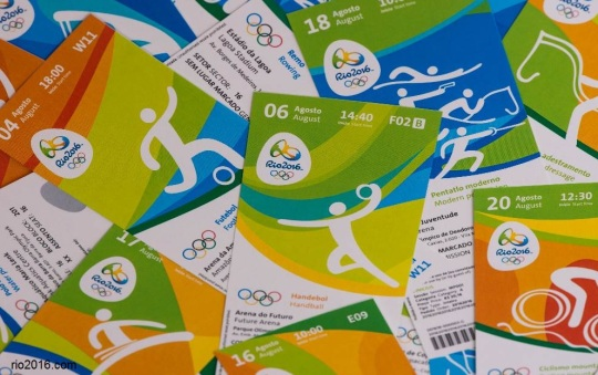 2016 Olympic tickets