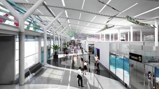 New Bermuda Airport
