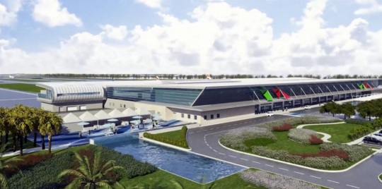 New Bermuda Airport