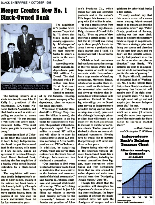 Black Banks -Oct 1988