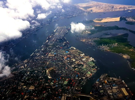 Eko Atlantic Eko aerial -Lagos