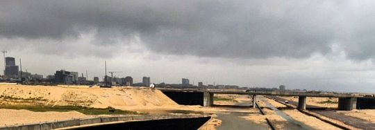 Eko Atlantic Lagos skyline