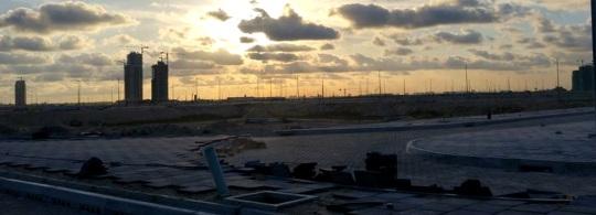 Eko Atlantic skyline