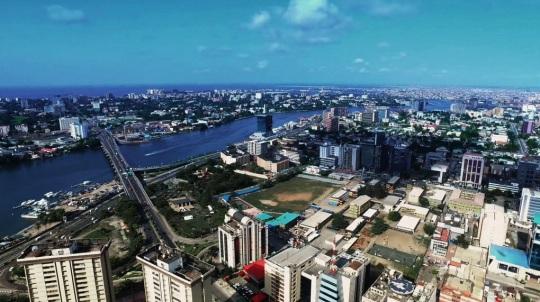 Lagos skyline