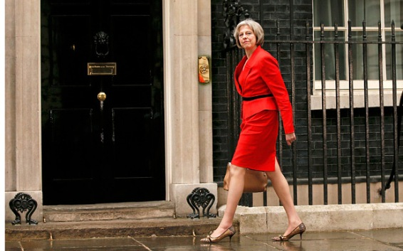 Image result for Theresa May as Prime Minister