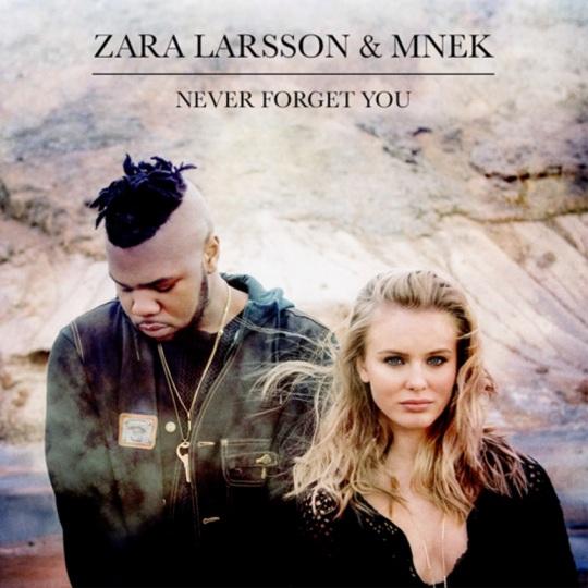 ZARA LARSSON and MNEK