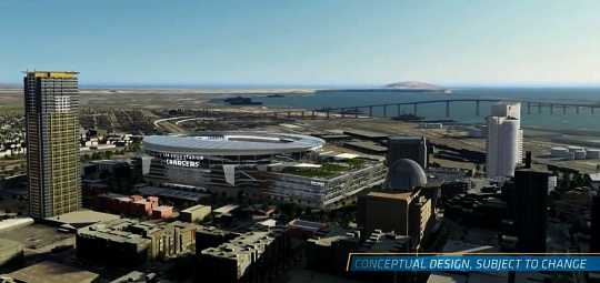 San Diego Chargers new stadium proposal 2016