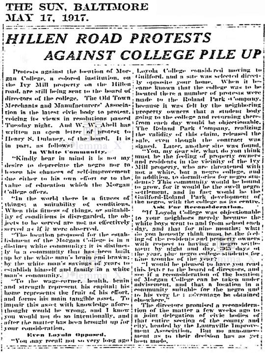 morgan-state-university-history-1917