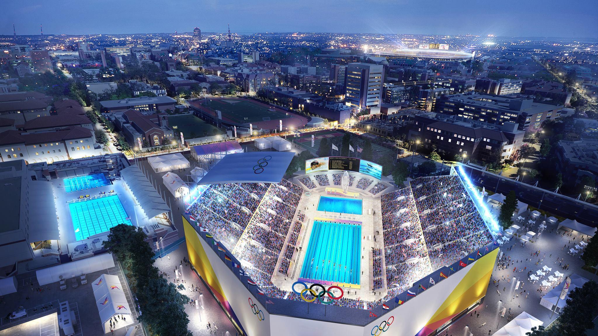 La 2024 Los Angeles 2024 Olympic Bid The Venues