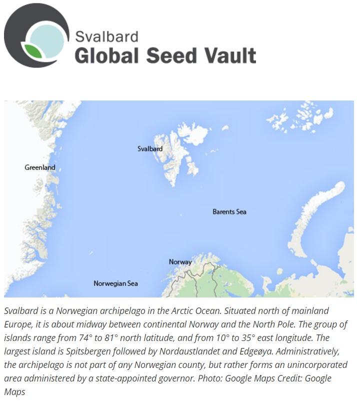 svalbard global seed vault pdf